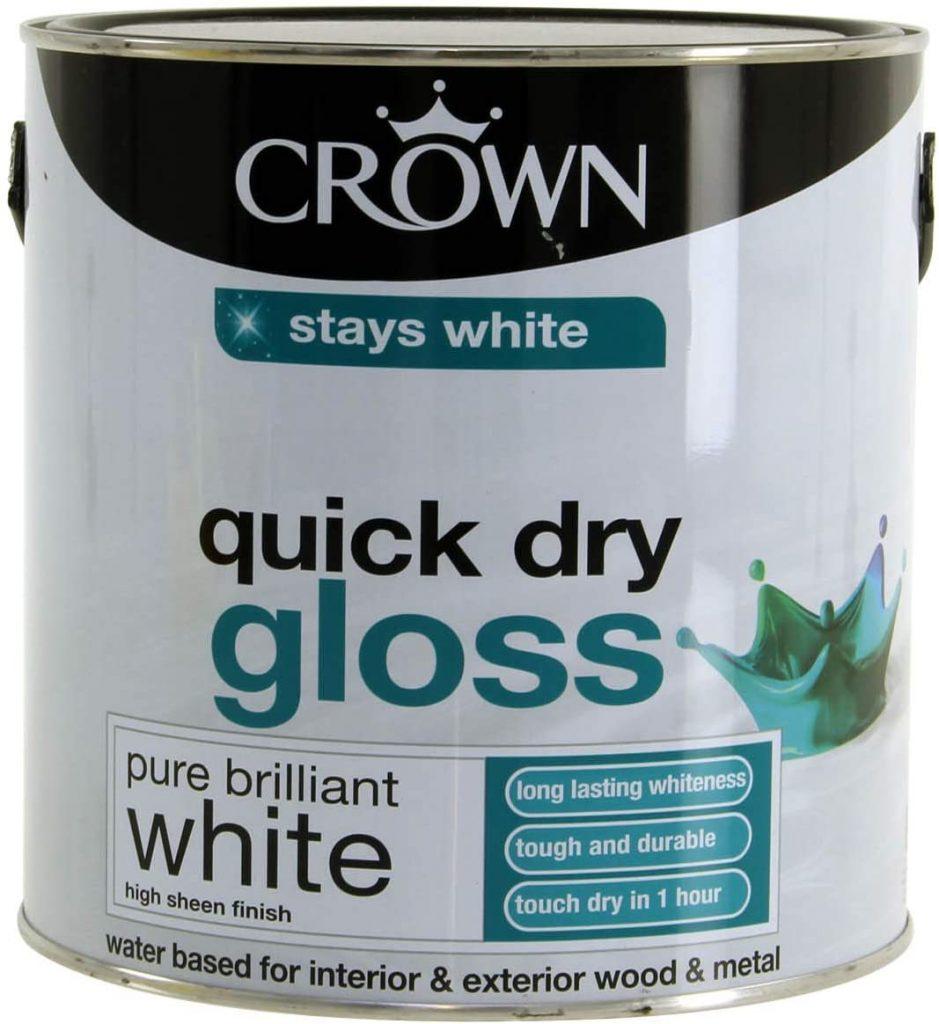 Best One-coat Gloss White Paint