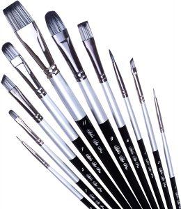 Pro Paint Brush Set