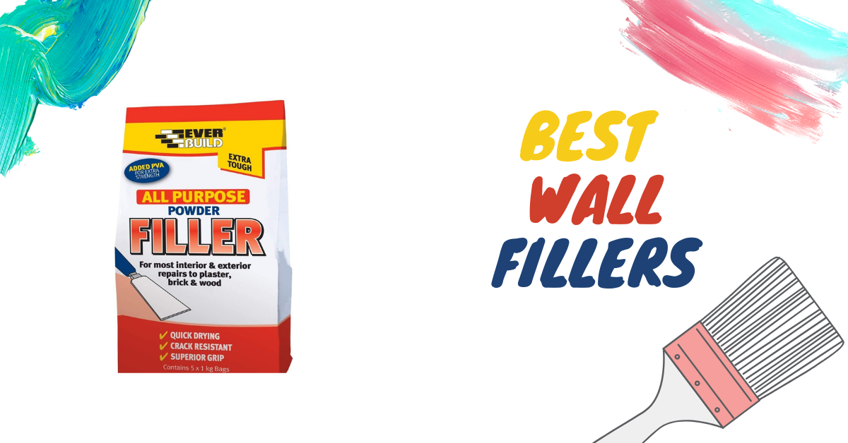 7 Best Wall Fillers of 2021- A Review & Buyer's Guide
