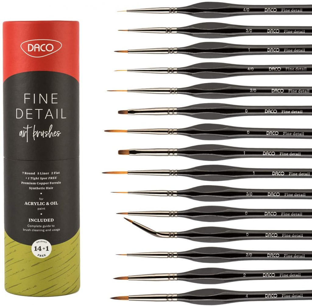 Best Paint Brush Set For Miniatures