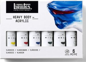 liquitex acrylic paint