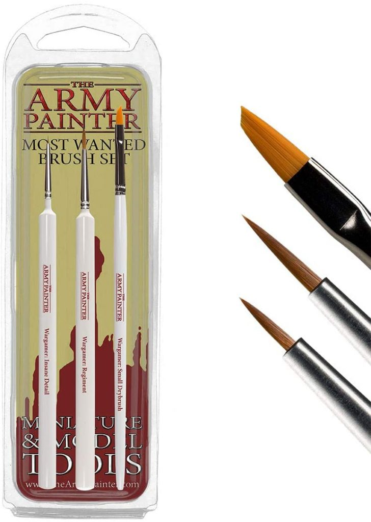 Miniature Painting Brush Set