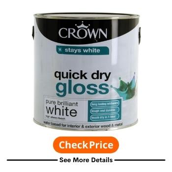 Best One Coat Gloss White Paint