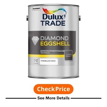 Diamond Quick Dry Eggshell Pure Brilliant White