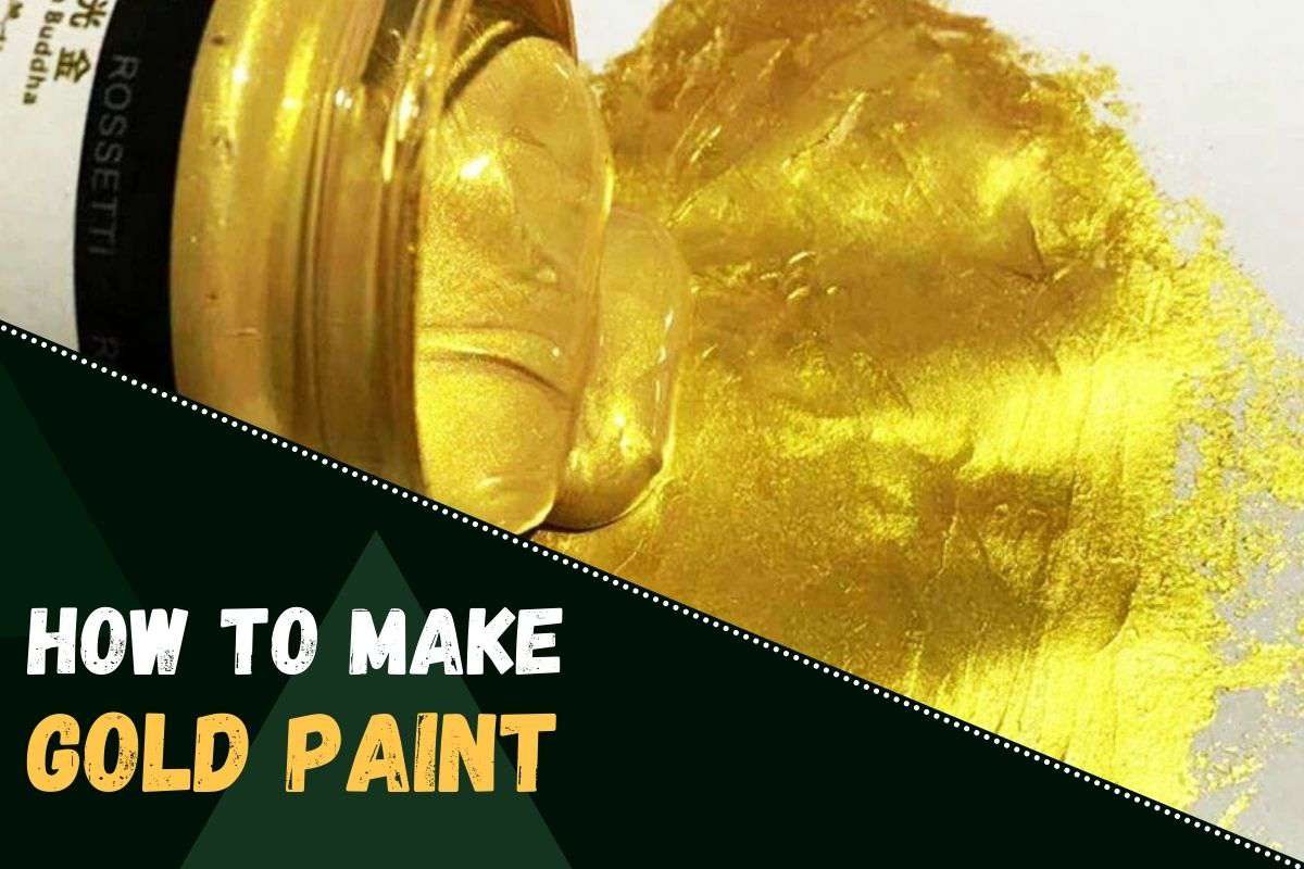 how to make golden colour at home