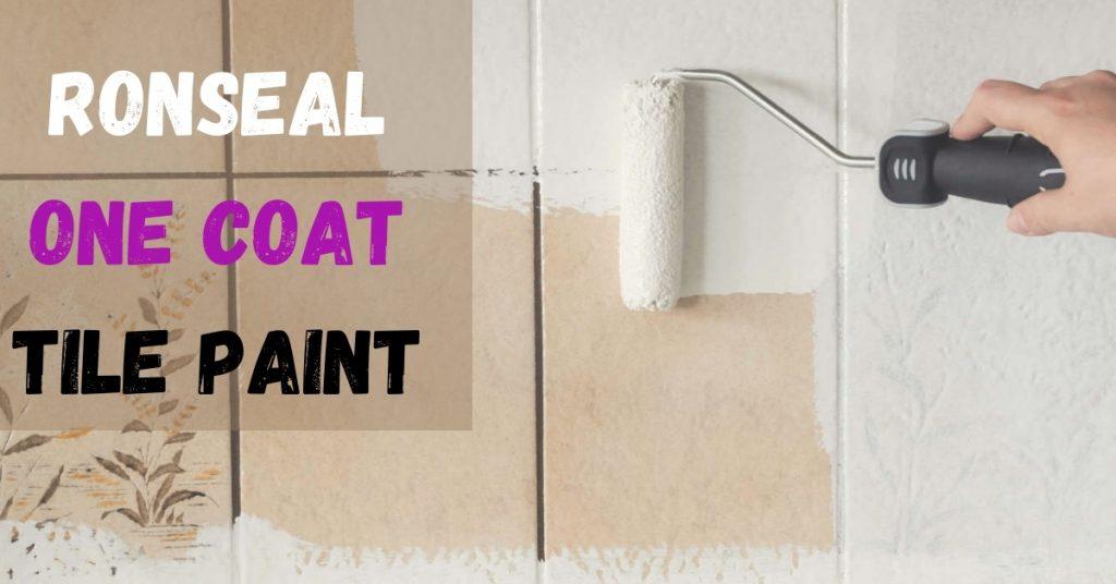 Ronseal One Coat Tile Paint 750ml